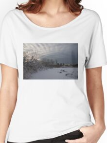 Clearing Snowstorm Women's Relaxed Fit T-Shirt