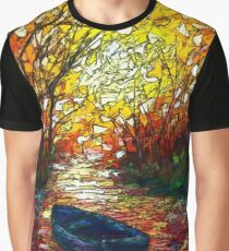 Impression Sunset by Lena Owens Graphic T-Shirt