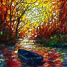 Impression Sonnenuntergang von Lena Owens von OLena  Art ❣️