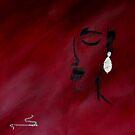 Silver earring by Linda Ridpath