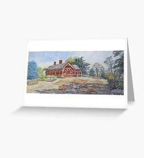 Truganina Explosives Reserve Keeper's Quarters, Altona Greeting Card