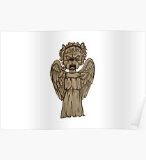 Weeping Angel x French Bulldog Poster
