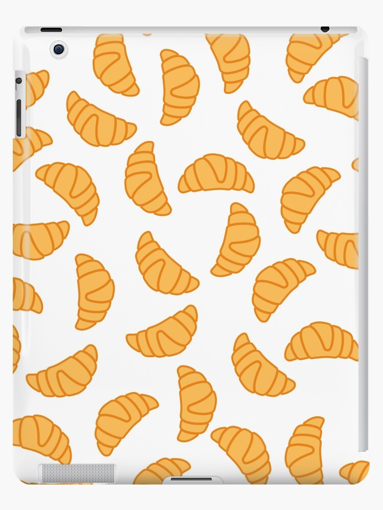 Croissant seamless pattern by Stock Image Folio