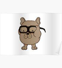 Adipose x French Bulldog Poster
