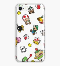 It's a SUPER Mario Pattern. iPhone Case/Skin