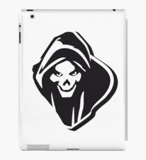 Death hooded evil creepy iPad Case/Skin