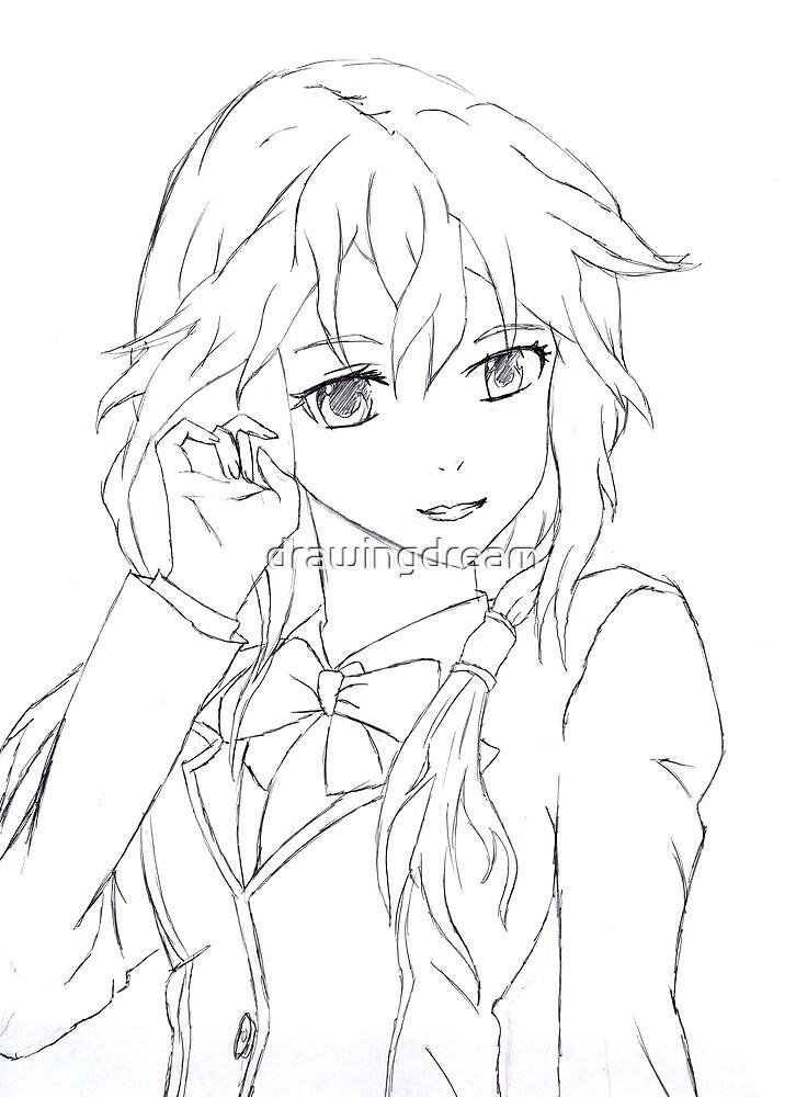 Inori  by drawingdream
