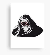 Death hooded evil creepy sunglasses Canvas Print