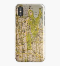 Sydney City Map iPhone Case