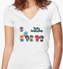 Chibi Hakusho!  Women's Fitted V-Neck T-Shirt