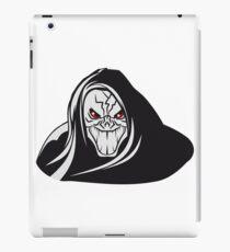 Death hooded evil grusel iPad Case/Skin