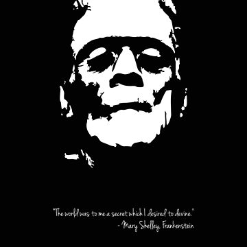 Frankenstein - The Monster - Black and White by PCB1981