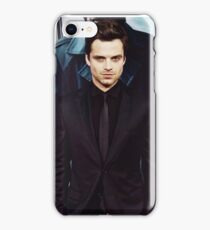 Seb in Black iPhone Case/Skin