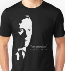 HP Lovecraft - I am Providence - Black and White Unisex T-Shirt