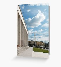 Different architectures Greeting Card