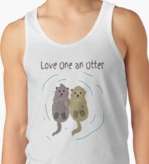 Love One An Otter Tank Top