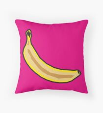 Banana Pop Throw Pillow