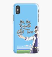 Hon Hon Baguette Eiffel Tower iPhone Case