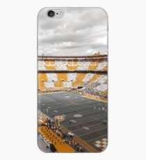 Bleed Orange und Weiß iPhone-Hülle & Cover