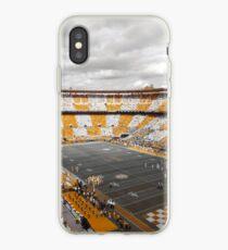 Bleed Orange and White iPhone Case