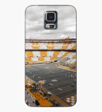 Bleed Orange and White Case/Skin for Samsung Galaxy