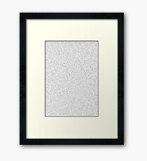 Prime Numbers Framed Print