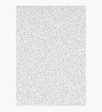 Prime Numbers Photographic Print