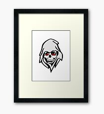 The death Framed Print