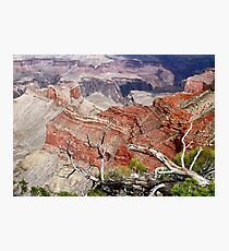 Sedimentary Red Photographic Print