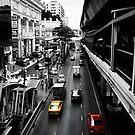 Bangkok Street by Charuhas  Images