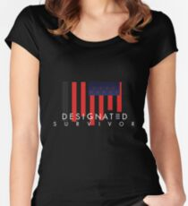 Designated Survivor Women's Fitted Scoop T-Shirt