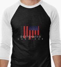 Designated Survivor Men's Baseball ¾ T-Shirt