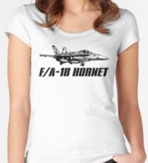 F/A-18 Hornet Women's Fitted Scoop T-Shirt