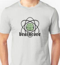 Braincore - Atomic Nucleus Brain Unisex T-Shirt