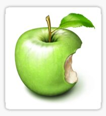Apple Core Sticker