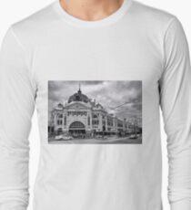 Flinders Street Melbourne Long Sleeve T-Shirt