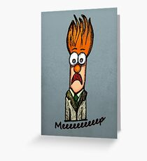 Meeeeeeeeep Greeting Card