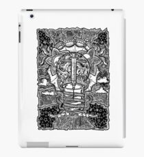 Rebirth - Black & White iPad Case/Skin