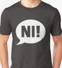 Knights who say Ni - White Unisex T-Shirt