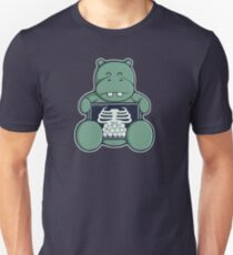 The Hippo who was hungrier Slim Fit T-Shirt