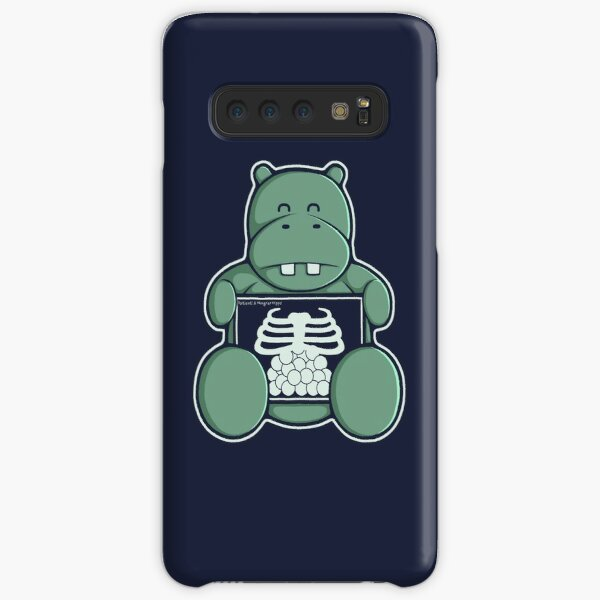 The Hippo who was hungrier Samsung Galaxy Snap Case