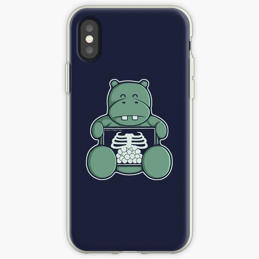 The Hippo who was hungrier iPhone-Hülle & Cover
