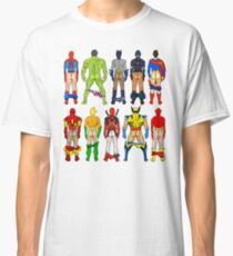 Superhero Butts Classic T-Shirt