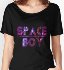 Space Boy Women's Relaxed Fit T-Shirt