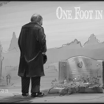One Foot in the Grave Storyboard Poster by ESSstore