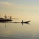 Setting forth before dawn, Castiglione del Lago, Umbria, Italy by Andrew Jones
