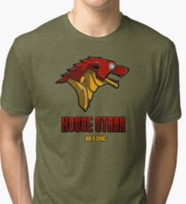 House Iron Stark Sigil and Motto Tri-blend T-Shirt