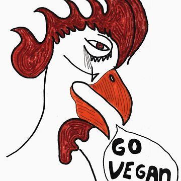 Go Vegan by ViciousVegan