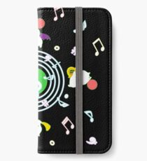 Music Moogle (Black&Green) iPhone Wallet/Case/Skin