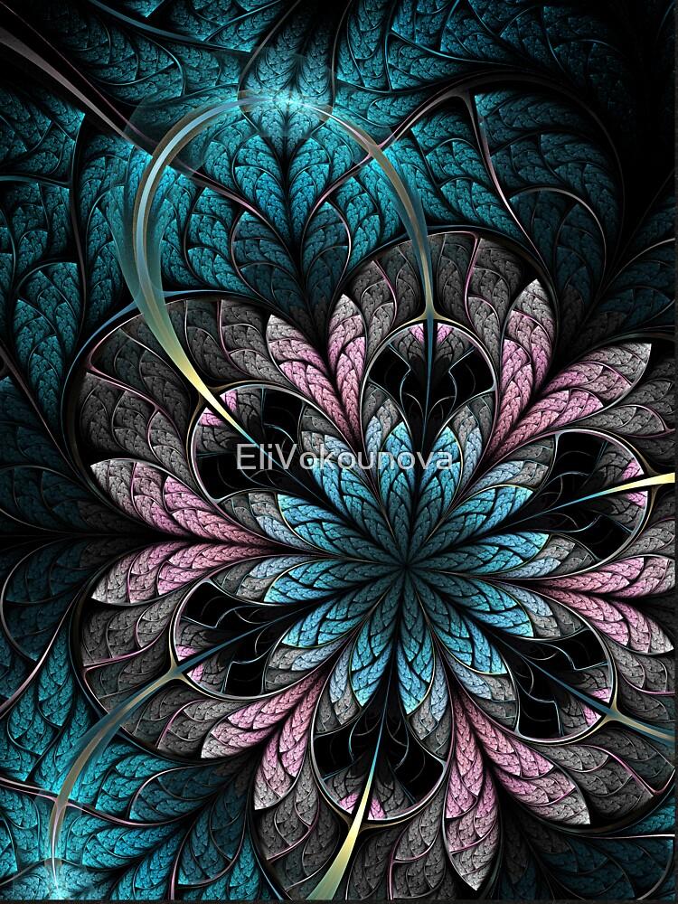 Flower III - Abstract Fractal Artwork by EliVokounova